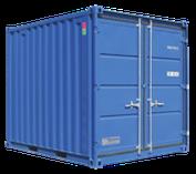 Containex Lagercontainer 10 zum Kauf und zur Miete bei Schreiber Baumaschinen