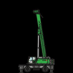 SENNEBOGEN 6113 Mobiler Teleskopkran bei Schreiber Baumaschinen