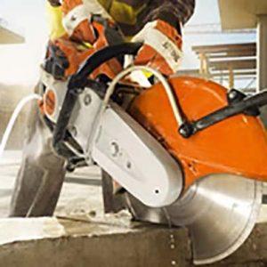 Stihl Gesteinschneider und Trennschleifer bei Schreiber Baumaschinen