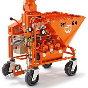PFT G4 Standard von PFT bei Schreiber Baumaschinen