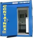 Containex Sanitärcontainer 10 zum Kauf und zur Miete bei Schreiber Baumaschinen