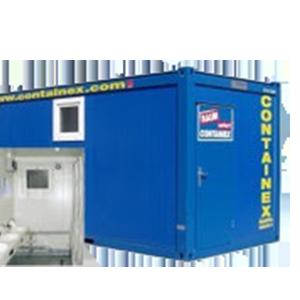 Containex Sanitärcontainer 20 zum Kauf und zur Miete bei Schreiber Baumaschinen
