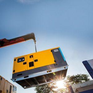 Mobile Diesel-Stromerzeuger