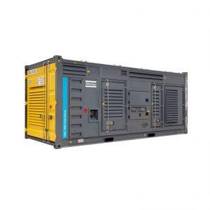 Twin Power Stromerzeuger von Atlas Copco bei Schreiber Baumaschinen in Bremen, Bremerhaven und Lüneburg