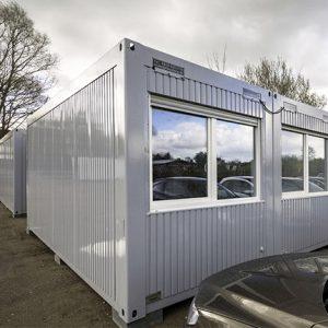 Kleusberg Büro-Container bei Schreiber Baumaschinen in Bremen, Bremerhaven oder Lüneburg