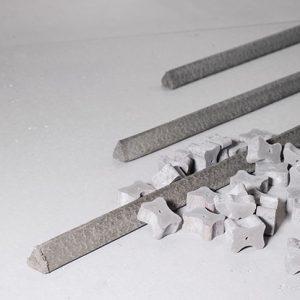 Abstandhalter aus Faserbeton von Max Frank bei Schreiber Baumaschinen in Bremen, Bremerhaven und Lüneburg