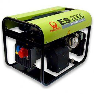 Stromerzeuger ES 8000 von Pramac bei Schreiber Baumaschinen in Bremen, Bremerhaven oder Lüneburg
